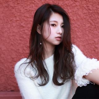 暗髪 小顔 コンサバ 大人女子 ヘアスタイルや髪型の写真・画像