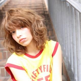 外国人風 ストリート ボブ ラフ ヘアスタイルや髪型の写真・画像 ヘアスタイルや髪型の写真・画像
