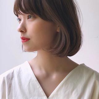 韓国ヘア タンバルモリ ボブ タッセルボブ ヘアスタイルや髪型の写真・画像