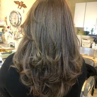 ローライト ゆるふわ ハイライト 外国人風カラー ヘアスタイルや髪型の写真・画像