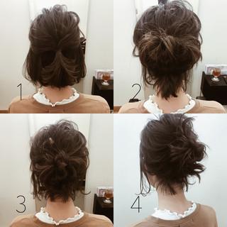 アンニュイ ナチュラル ボブ 結婚式 ヘアスタイルや髪型の写真・画像 ヘアスタイルや髪型の写真・画像