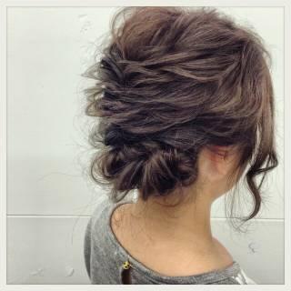 ロング ゆるふわ フィッシュボーン ヘアアレンジ ヘアスタイルや髪型の写真・画像 ヘアスタイルや髪型の写真・画像