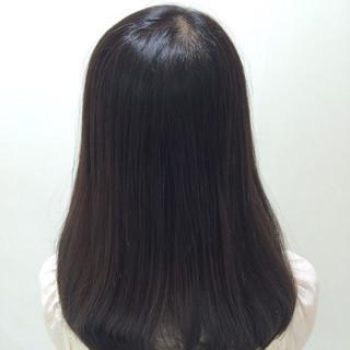 モテ髪 就活 イルミナカラー ナチュラル ヘアスタイルや髪型の写真・画像