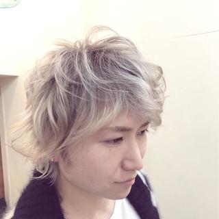ハイライト グラデーションカラー グレージュ バレイヤージュ ヘアスタイルや髪型の写真・画像 ヘアスタイルや髪型の写真・画像