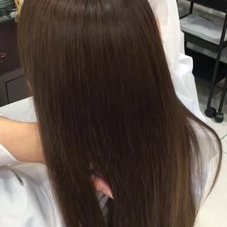 大人かわいい イルミナカラー ロング 外国人風 ヘアスタイルや髪型の写真・画像