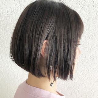 簡単ヘアアレンジ デート バレイヤージュ ボブ ヘアスタイルや髪型の写真・画像