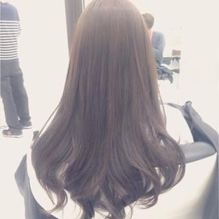 ロング かわいい アッシュ 男ウケ ヘアスタイルや髪型の写真・画像