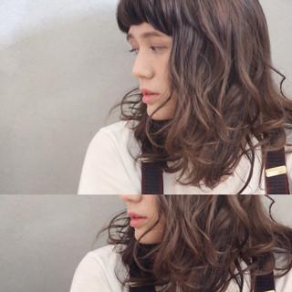 大人かわいい かわいい ウェーブ ナチュラル ヘアスタイルや髪型の写真・画像 ヘアスタイルや髪型の写真・画像
