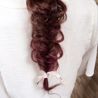 ストリート ショート ハーフアップ 編み込み ヘアスタイルや髪型の写真・画像 ヘアスタイルや髪型の写真・画像