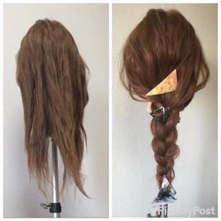 大人かわいい 外国人風 簡単ヘアアレンジ ヘアアレンジ ヘアスタイルや髪型の写真・画像 ヘアスタイルや髪型の写真・画像