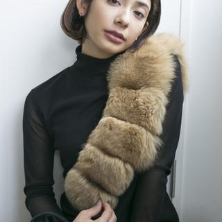 アンニュイほつれヘア アッシュ 透明感 黒髪 ヘアスタイルや髪型の写真・画像