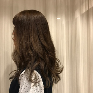 デート 大人かわいい ゆるふわ ナチュラル ヘアスタイルや髪型の写真・画像