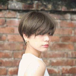 大人かわいい ショート ナチュラル 外国人風 ヘアスタイルや髪型の写真・画像