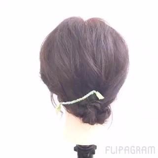 夏 ミディアム ショート ゆるふわ ヘアスタイルや髪型の写真・画像