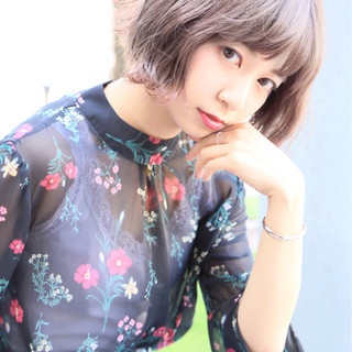 高岡茉由さんのヘアスナップ