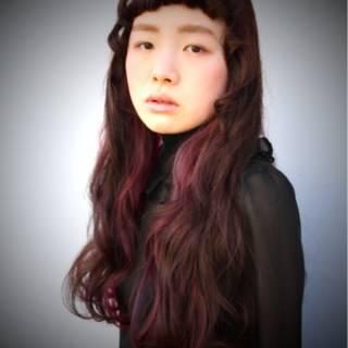 オン眉 ストリート ガーリー 秋 ヘアスタイルや髪型の写真・画像