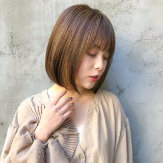 ショートヘア ミニボブ ボブ コンサバ ヘアスタイルや髪型の写真・画像