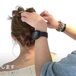 リラックス ショート アウトドア オフィス ヘアスタイルや髪型の写真・画像