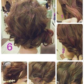 大人かわいい ルーズ ツイスト ラフ ヘアスタイルや髪型の写真・画像