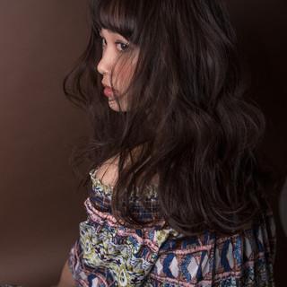 ストリート ロング 艶髪 サラサラ ヘアスタイルや髪型の写真・画像