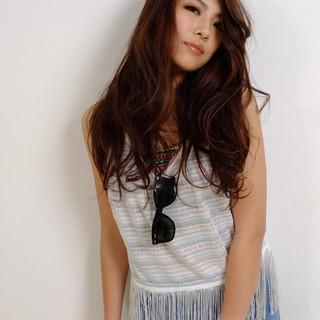 大人かわいい ラフ 大人女子 ロング ヘアスタイルや髪型の写真・画像
