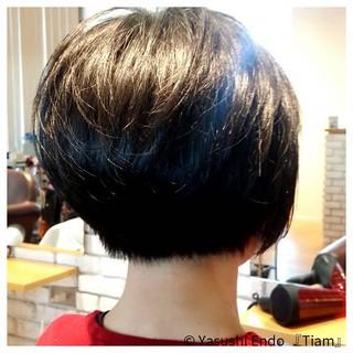 ノースタイリング モード 大人ヘアスタイル ボブ ヘアスタイルや髪型の写真・画像