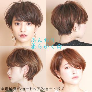 ショートヘア ショートボブ マッシュショート 大人かわいい ヘアスタイルや髪型の写真・画像