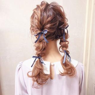 三つ編み ヘアアレンジ 結婚式 ロング ヘアスタイルや髪型の写真・画像 ヘアスタイルや髪型の写真・画像