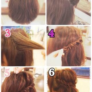 フェミニン ハーフアップ 大人かわいい ヘアアレンジ ヘアスタイルや髪型の写真・画像 ヘアスタイルや髪型の写真・画像