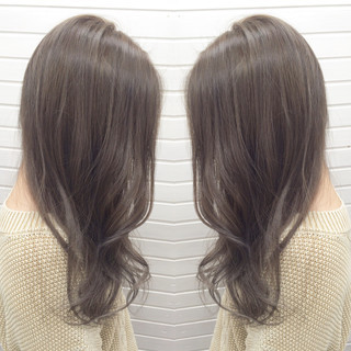 ガーリー アッシュ 外国人風 渋谷系 ヘアスタイルや髪型の写真・画像