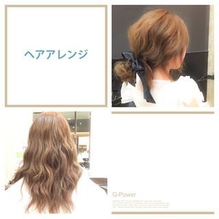 簡単ヘアアレンジ ロング ヘアアレンジ ショート ヘアスタイルや髪型の写真・画像 ヘアスタイルや髪型の写真・画像