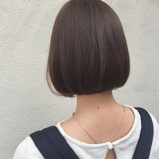 外国人風 ボブ 大人女子 ナチュラル ヘアスタイルや髪型の写真・画像