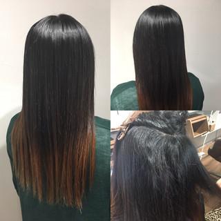 縮毛矯正 髪質改善 ナチュラル 髪質改善トリートメント ヘアスタイルや髪型の写真・画像
