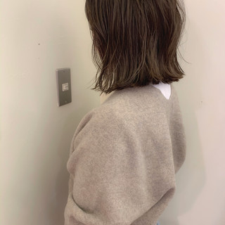 ミニボブ ボブ ゆるふわ ナチュラル ヘアスタイルや髪型の写真・画像