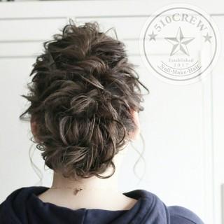 上品 簡単ヘアアレンジ エレガント 大人かわいい ヘアスタイルや髪型の写真・画像