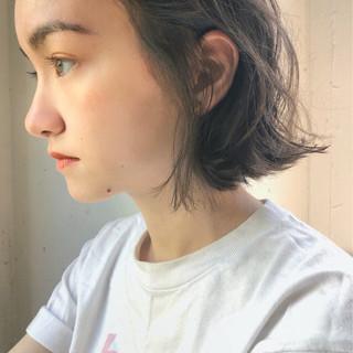 ガーリー 透明感 スポーツ 色気 ヘアスタイルや髪型の写真・画像