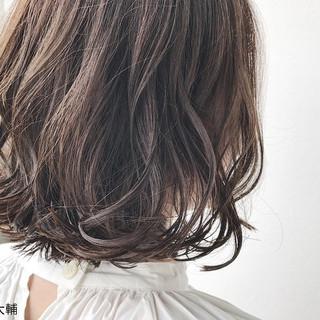 透明感 ナチュラル 秋 ボブ ヘアスタイルや髪型の写真・画像 ヘアスタイルや髪型の写真・画像