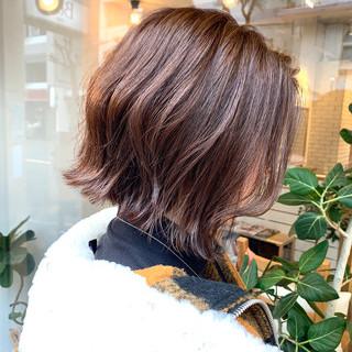 ショートボブ ショートヘア ボブ 抜け感 ヘアスタイルや髪型の写真・画像