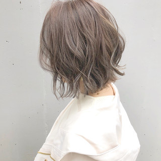 デート アンニュイほつれヘア ボブ ヘアアレンジ ヘアスタイルや髪型の写真・画像
