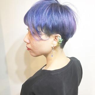 透明感 ストリート ミルクティー ハイトーン ヘアスタイルや髪型の写真・画像
