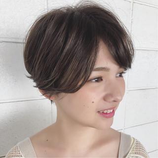 ショート 似合わせ ラフ ストリート ヘアスタイルや髪型の写真・画像
