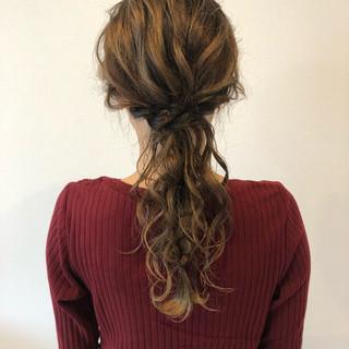 エレガント 上品 ロング ヘアアレンジ ヘアスタイルや髪型の写真・画像 ヘアスタイルや髪型の写真・画像