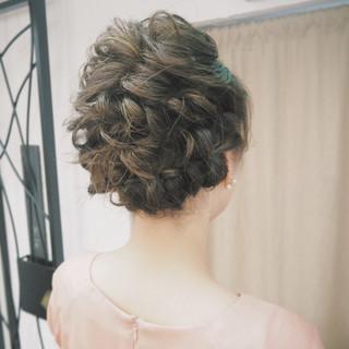 ボブ 編み込み ショート ヘアアレンジ ヘアスタイルや髪型の写真・画像 ヘアスタイルや髪型の写真・画像