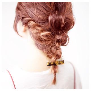 ミディアム ショート ゆるふわ ハイライト ヘアスタイルや髪型の写真・画像