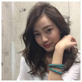 巻き髪 コンサバ モテ髪 ロング ヘアスタイルや髪型の写真・画像