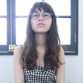ピュア ナチュラル ロング アッシュ ヘアスタイルや髪型の写真・画像 ヘアスタイルや髪型の写真・画像