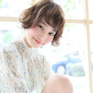 ベリーショート パーマ ショートボブ 外国人風 ヘアスタイルや髪型の写真・画像