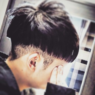 モード 黒髪 ショート ボーイッシュ ヘアスタイルや髪型の写真・画像