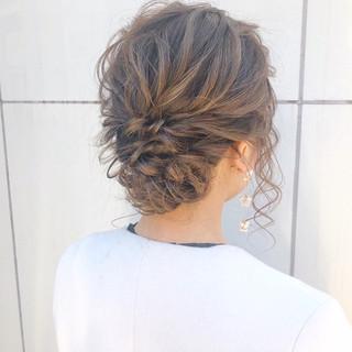ナチュラル ヘアアレンジ デート アンニュイほつれヘア ヘアスタイルや髪型の写真・画像 ヘアスタイルや髪型の写真・画像