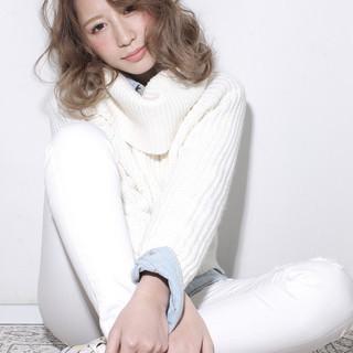 外国人風 ガーリー 大人かわいい レイヤーカット ヘアスタイルや髪型の写真・画像